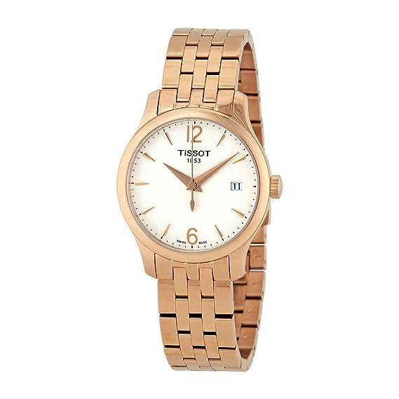 Tissot TRADITION T063.210.33.037.00 Reloj de Pulsera para mujeres: Amazon.es: Relojes