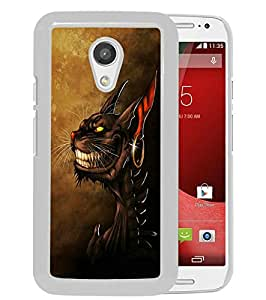 Alice Madness Returns 03 White Newest Custom Design Motorola Moto G 2nd Generation Phone Case