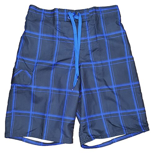 op-navy-blue-plaid-eboard-at-knee-22-outseam-swim-short-trunks-large