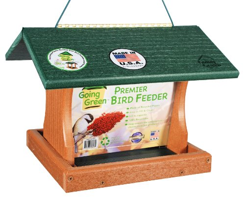 Woodlink Going Green Large Premier Bird Feeder  Model GGPRO1 (Large Hopper Bird Feeder)