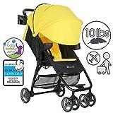 ZOE XL1 DELUXE Xtra Lightweight Travel & Everyday Umbrella Stroller System (Yellow)