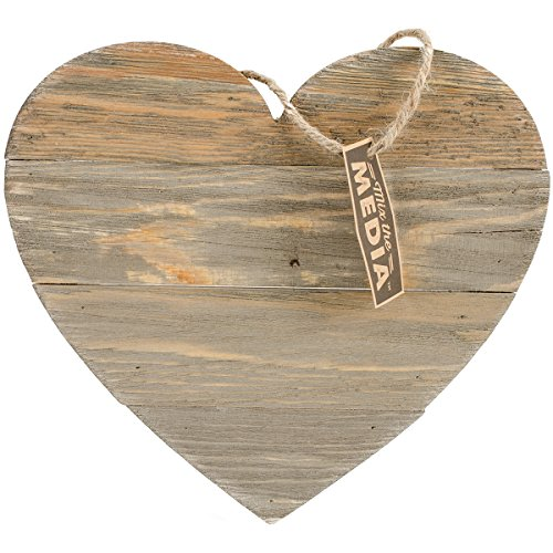 Hampton Art Heart Wood Plank