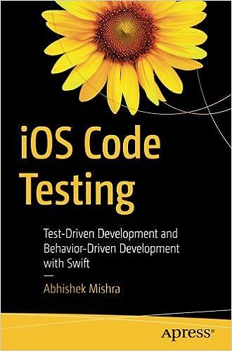 iOS Code Testing: Test-Driven Development and Behavior-Driven Development with Swift