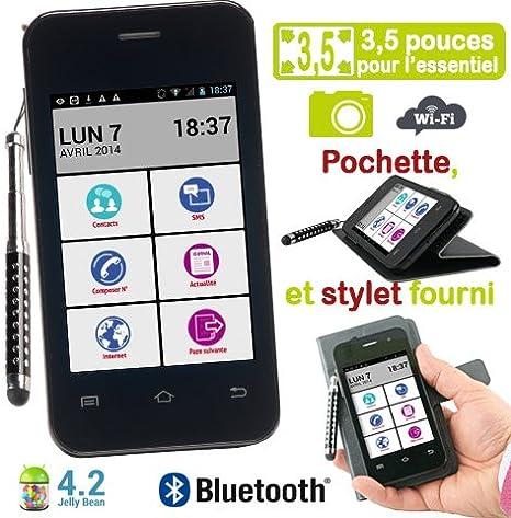 Mobiho-essentiel SMART TOP, el smartphone 3,5