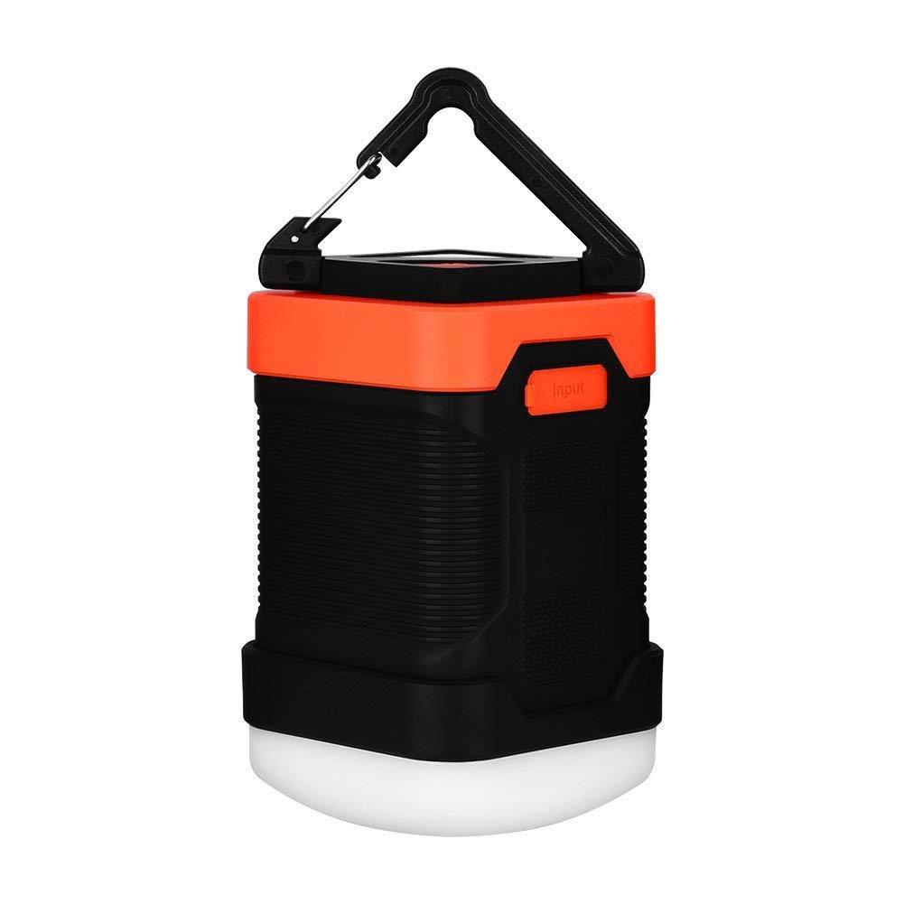 SUNTATOP Camping Lantern Power Bank Charger 10000mAh IP65 Waterproof LED Emergency Lamp Outdoor for Camping Fishing Lamp
