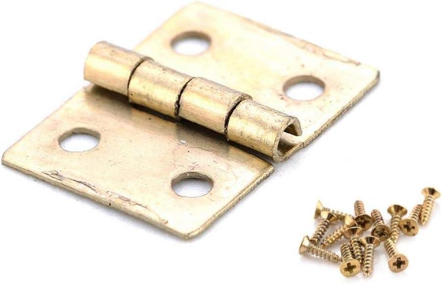 10pcs De Pliage Acrylique Transparent Durable Moyen Acrylique Charni/ères Outils De Charni/ère