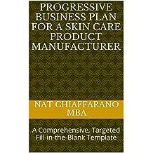 Amazon com: Progressive Business Plan for a Skin care