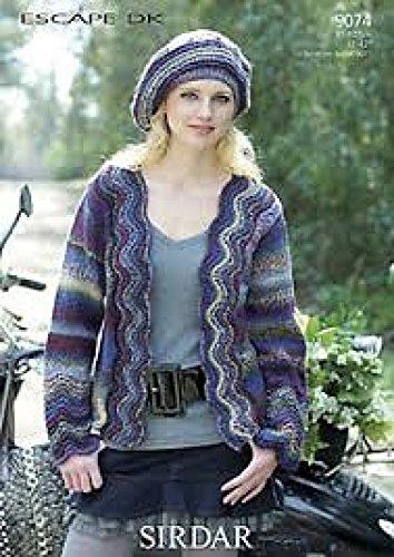 Amazon Sirdar Ladies Cardigan Knitting Pattern 9074 Dk Home