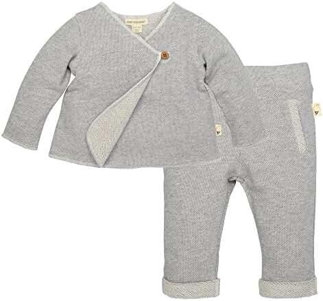 Burt's Bees Baby Baby Organic Kimono Top and Pant Set
