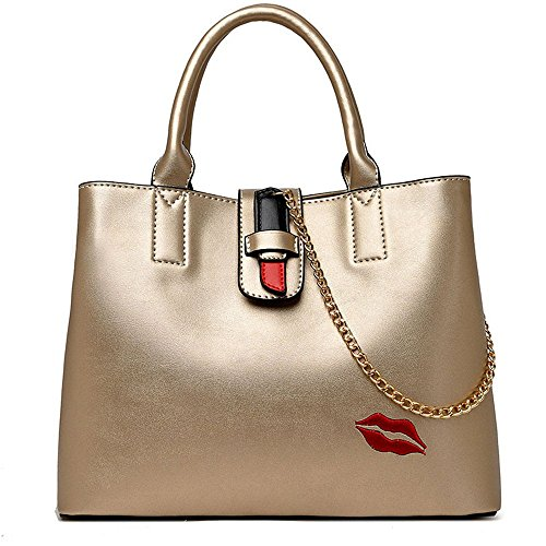 Unique Golden Sac GWQGZ Simple À À Bandoulière Dames Mode Sac Golden La Main Joker Satchel Nouveau Mode De tTTfEx1