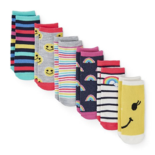 The Children's Place Baby Boys Midi Socks (Pack of 6), Multi Clr 6125, 12-24MONTH