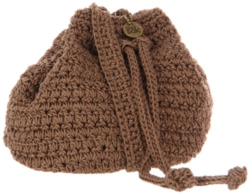 The SAK Classic Mini Drawstring,Taupe,One Size, Bags Central