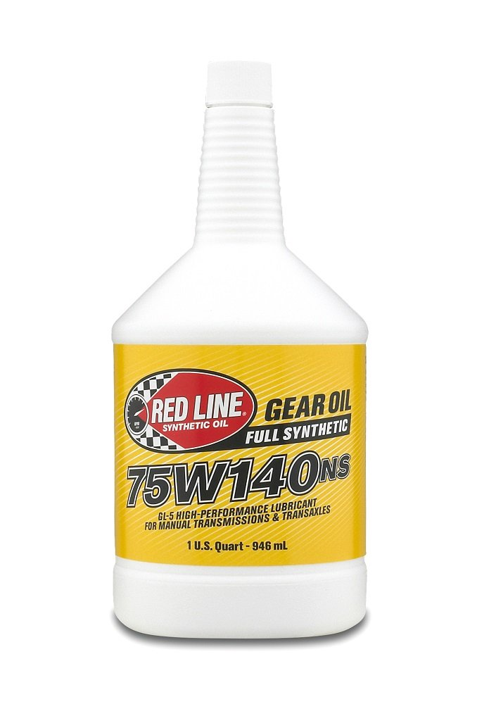 Red Line 57104 75W140 Non-Limited Slip Synthetic Gear Oil - 1 Quart, (Pack of 12)