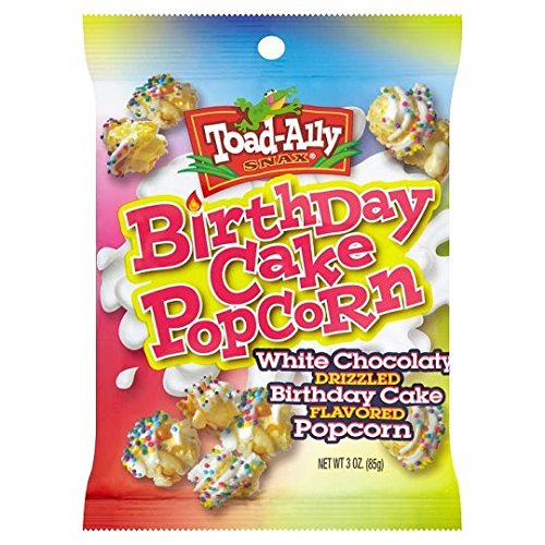 Toad Ally Birthday Cake Popcorn With Sprinkles 85g