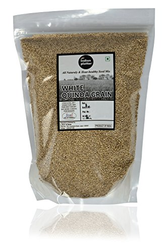 INDIAN PLATTER White Quinoa Grain,