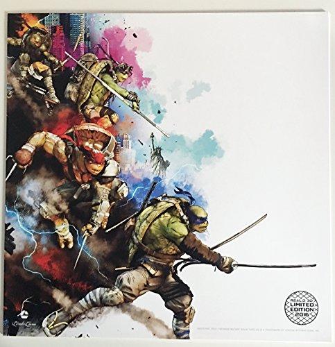 Teenage Mutant Ninja Turtles  Out Of The Shadows Original Promo Movie Poster 12 X12  Carmike Le 2016