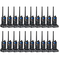 BAOFENG 2015 New Version UV5X Ham Two Way Radio Dual Band Transceiver UHF 400-520MHz VHF 136-174MHz Waterproof Two Way Radio 20 Pcs