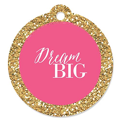 Dream Big - Graduation Party Favor Gift Tags (Set of -