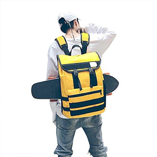 Skateboard Backpack, Multifunction Water Resistant Gym Sports Skating Bags School Bag