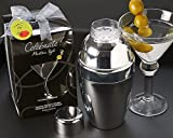Artisano Designs ''Celebrate! Martini Style'' Cocktail Shaker Set