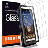 [3 Pack] MP-MALL Screen Protector for Google Pixel 3a, [Alignment Frame Easy Installation]