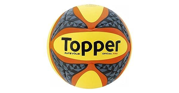 7773ba7e3811b Bola Futevôlei Topper Pro  Amazon.com.br  Esportes e Aventura