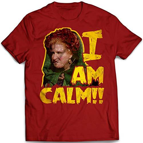 I Am Calm Sanderson Sisters Quotes Funny Halloween Hocus Pocus Customized Handmade T-Shirt Hoodie/Long Sleeve/Tank Top/Sweatshirt -