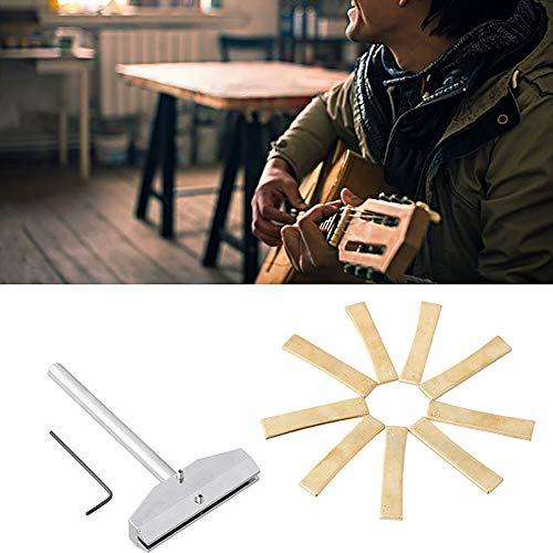 FidgetGear Bass Guitar Radius Fingerboard Fret Press Caul+Insert Guitar Maintenance Kit from FidgetGear