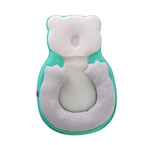 Mr.LQ Almohada para bebé Respirable Prevención para la ...