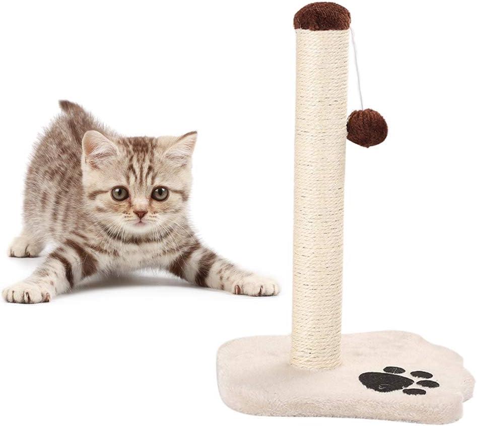 Feli546Bruce Árbol para Gato, Cuerda de sisal para Gato, Columpio para casa, Pelota para Saltar y Escalar, Juguete Estable para Gato, raspar Postes, función de Escalada para Gatos, Torre de Juguetes: Amazon.es: