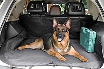NEVERLAND Dog Seat Cover Pet Car Suv Van Back Rear Bench Waterproof Universal Hammock Black
