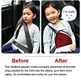 AK KYC 2 Pcack Car Seatbelt Adjuster for Kids Car