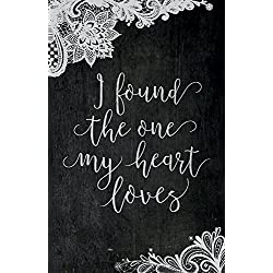 "Church Bulletin 11"" - Wedding - I Found (Pack of 50)"