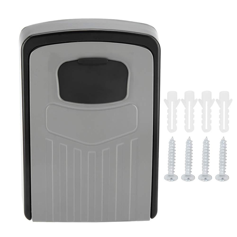 Aufee Safety Key Box, Wall Mount 4 Digit Combination Password Key Box Safety Lock Organizer Case Tool Storage case Wall Mount Key Box by Aufee