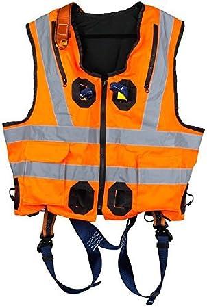 G-Force - Arnés elástico de alta visibilidad, color naranja con ...