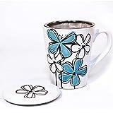 Danesco Wildberry Tea Infuser Mug