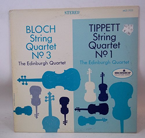 Block String Quartet No 3 / Tippett String Quartet No 1
