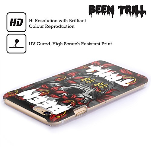 Official Been Trill Floral Skull Mixed Hard Back Case for Apple iPhone 6 / 6s
