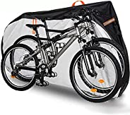 FreeDouble Bike Cover for 2 Bikes: 420D Heavy Duty Ripstop Material Offers Constant Protection for Mountain Bi