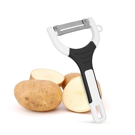 Metaltex 252760 - Pelapatatas con Mango de Goma