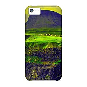 Fashion Protective Mountain Paradise Case Cover For Iphone 5c