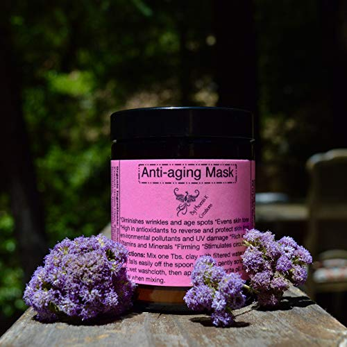 - Anti-aging Face Mask-Organic, rich in antioxidants, vitamins and minerals.