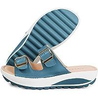 Mujer Sandalias de Cuña Elegante Zapatos de Verano