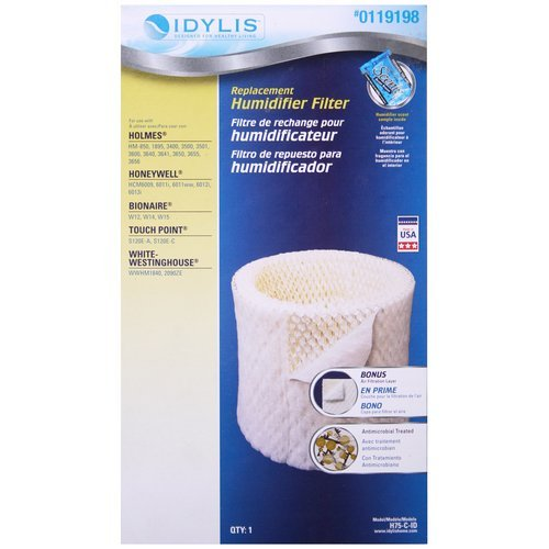 Idylis Humidifier Replacement Wick Filter RPS Products H75-C-ID