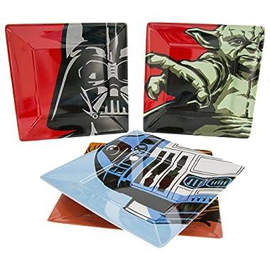 Star Wars Plate Set - Dishwasher and Oven Safe - Durable Melamine