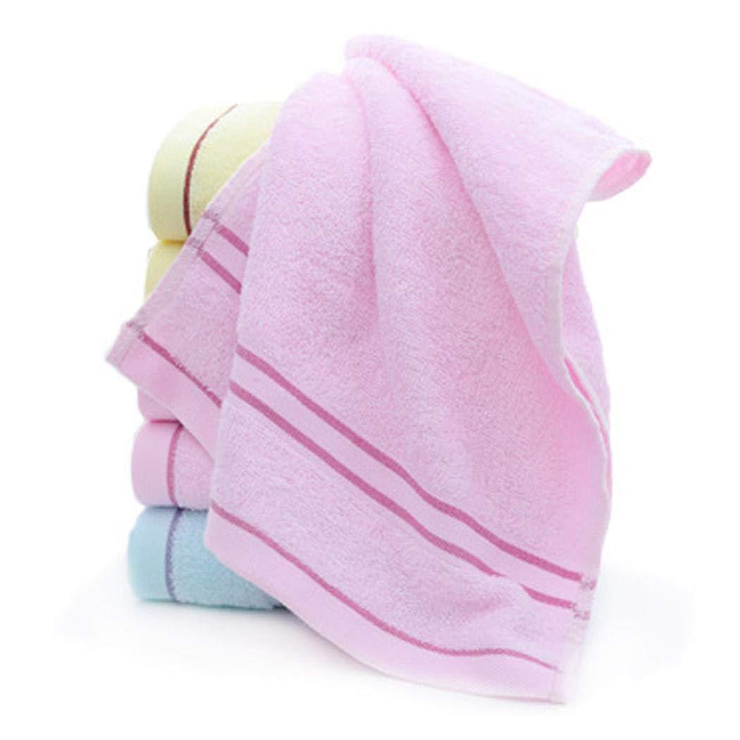 gonikm Comfortable Cotton Soft Super Absorbent Striped Home Wash Towel Bath Sheets