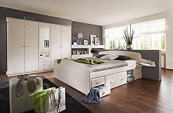 Bettgestell 180x200 mit schubladen  Bett