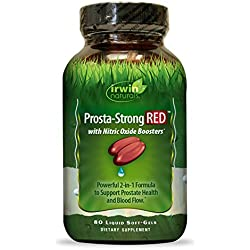 Irwin Naturals Prosta-Strong Red Supplement, 80 Count