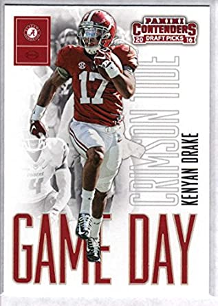 new styles 11cea 45869 Amazon.com: 2016 Panini Contenders Draft Picks Game Day ...