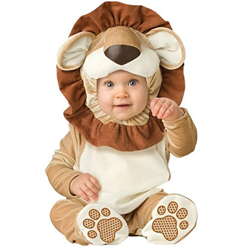 [gangnumsky-Kid's Lion Cosplay Dress New Year Crismas Party School Cosplay Costume Baby Animal Cute Romper Photography] (Indiana Jones Halloween Costume Diy)
